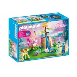 Playmobil Wróżki 9135 Świecący kwiat dzieci wróżek
