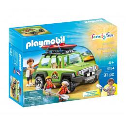 Playmobil 9154 Family Fun - Samochód Jeep 4x4 i kajaki