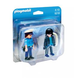 Playmobil Duo Pack 9218 Figurki - Policjant i złodziej