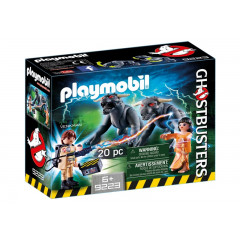 Playmobil 9223 Pogromcy Duchów - Venkman i Terror-Psy