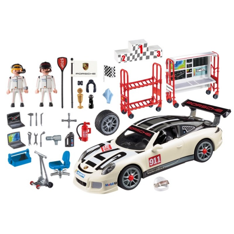 playmobil 9225 porsche 911 gt3 cup serwis samochodowy. Black Bedroom Furniture Sets. Home Design Ideas