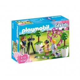 Playmobil City Life 9230 Fotograf ślubny i dzieci z kwiatami