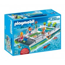 Playmobil Sports&Action 9233 Łódź ze szklanym dnem i silnikiem