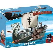 Playmobil 9244 Dragons Jak wytresować smoka - Statek Dragos