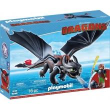 Playmobil 9246 Dragons Jak wytresować smoka - Czkawka i Szczerbatek