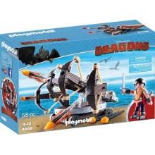 Playmobil 9249 Dragons Jak wytresować smoka - Eret i ogniste strzały
