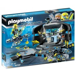 Playmobil 9250 Top Agents - Centrum dowodzenia Dr. Drone'a