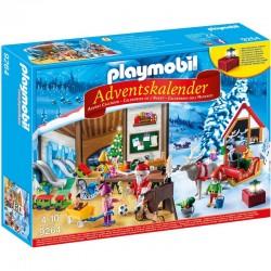 Playmobil 9264 Kalendarz Adwentowy - Pracownia Świętego Mikołaja