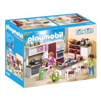 Playmobil 9269 City Life - Duża rodzinna kuchnia