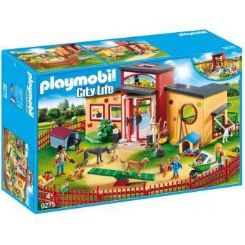 """Playmobil 9275 City Life - Hotel dla zwierząt """"Łapka"""""""