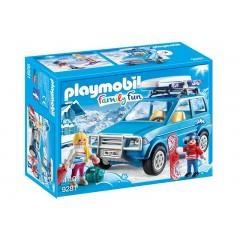 Playmobil Family Fun 9281 Auto z boxem na dachu