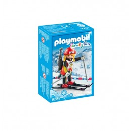 Playmobil Family Fun 9287 Biathlonistka