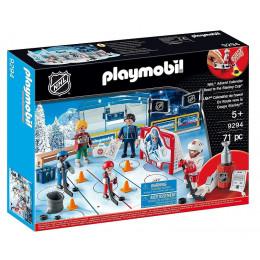 Playmobil - Kalendarz adwentowy NHL - Boisko do hokeja 9294