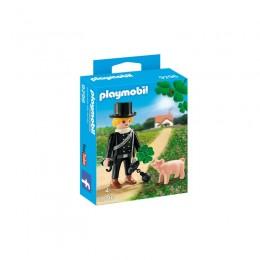 Playmobil 9296 Kominiarz z koniczyną i świnką