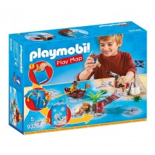 Playmobil 9328 Play Map - Piraci