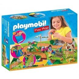 Playmobil 9331 Play Map - Wycieczka z kucykami