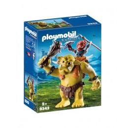 Playmobil 9343 Knights - Olbrzymi troll z nosidłem dla krasnoluda