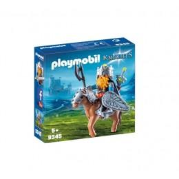 Playmobil 9345 Knights - Krasnolud z wojowniczym kucykiem
