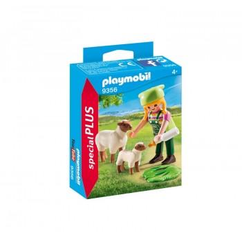 Playmobil 9356 Special Plus - Farmerka z owieczkami
