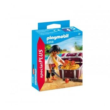 Playmobil 9358 Special Plus - Pirat ze skrzynią skarbów