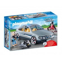 Playmobil 9361 City Action - Nieoznakowany pojazd jednostki specjalnej