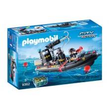 Playmobil 9362 City Action - Ponton jednostki specjalnej