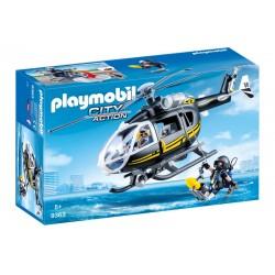 Playmobil 9363 City Action - Helikopter jednostki specjalnej
