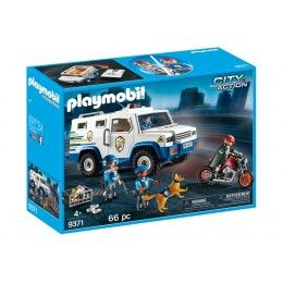 Playmobil City Action 9371 Konwój - transport pieniędzy