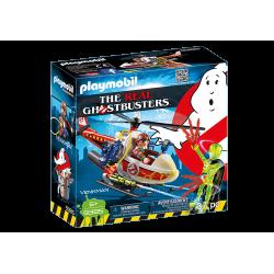 Playmobil 9385 - Pogromcy Duchów – Venkman z helikopterem