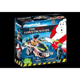 Playmobil 9388 - Pogromcy Duchów – Stantz z pojazdem latającym