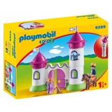 Playmobil 1-2-3 9389 - Zameczek z wieżą do układania