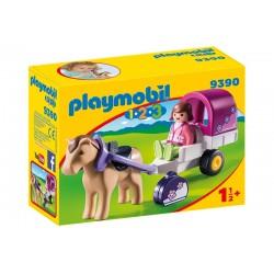 Playmobil 1-2-3 9390 - Kareta