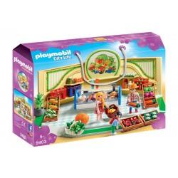 Playmobil 9403 City Life - Sklep ze zdrową żywnością