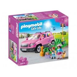 Playmobil 9404 City Life - Samochód rodzinny z zatoczką parkingową