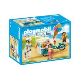 Playmobil 9426 Family Fun - Rower z wózkiem i lodami