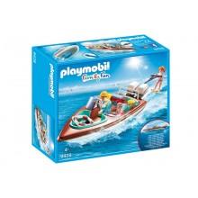 Klocki Playmobil 9428 Family Fun - Motorówka z silnikiem podwodnym