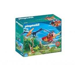 Klocki Playmobil 9430 Odkrywcy - Helikopter z pterodaktylem