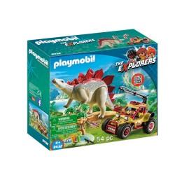 Klocki Playmobil 9432 The Explorers - Pojazd badawczy ze Stegozaurem