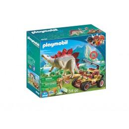 Klocki Playmobil 9432 Odkrywcy - Pojazd badawczy ze Stegozaurem