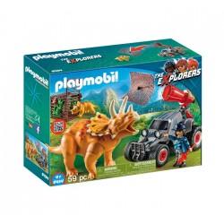 Klocki Playmobil 9434 The Explorers - Samochód terenowy z wyrzutnią