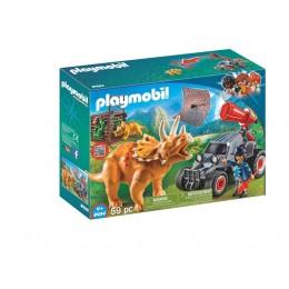 Klocki Playmobil 9434 Odkrywcy - Samochód terenowy z wyrzutnią