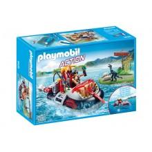 Playmobil 9435 Action - Poduszkowiec z silnikiem podwodnym