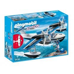 Playmobil 9436 Action - Policyjny samolot wodny