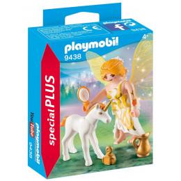 Playmobil 9438 Special Plus - Słoneczna wróżka z małym jednorożcem