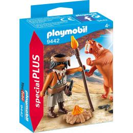 Playmobil 9442 Special Plus - Neandertalczyk z tygrysem szablozębnym
