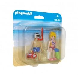 Playmobil Duo Pack 9449 Figurki - Plażowicze