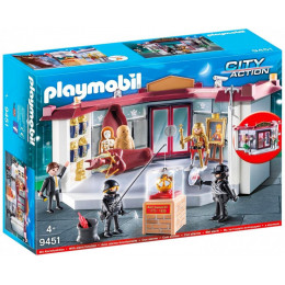 Playmobil 9451 City Action - Napad na muzeum