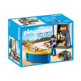 Klocki Playmobil 9457 City Life - Woźny w sklepiku