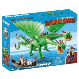 Playmobil 9458 Dragons Jak wytresować smoka - Szpadka i Mieczyk z Jot&Wym