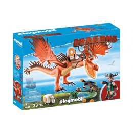 Playmobil 9459 Dragons Jak wytresować smoka - Sączysmark i Hakokieł
